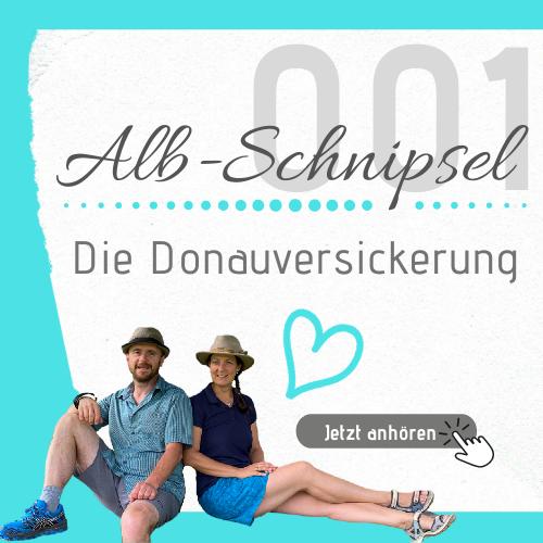AS001 - Die Donauversickerung - Alb-Schnipsel by Heimat-Verliebt