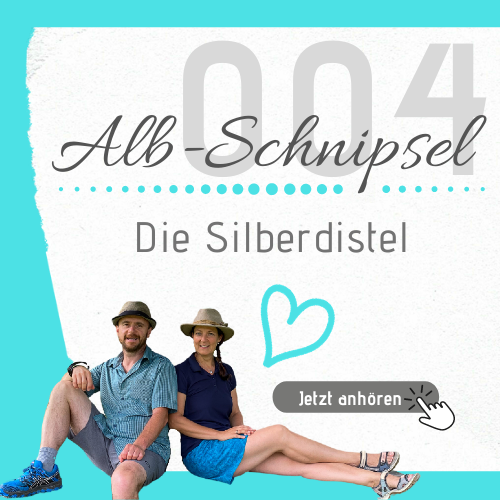 AS004 - Die Silberdistel - Alb-Schnipsel by Heimat-Verliebt