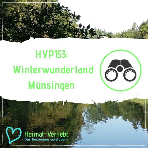 HVP153 - Winterwunderland Münsingen auf der Schwäbischen Alb - Mit Abstand Wintersport & Natur erleben